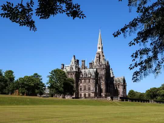 Gothic Fettes college is rich with similarities to Harry Potter's Hogwarts
